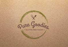 Pure Goodies | #branding #logo #identity | papier, kolorystyka, sztućce
