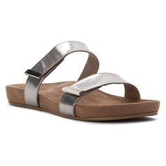 367392d73cf0 Vionic with Orthaheel Jura Women s Sandal 7.5 B(M) US Silver -- Click