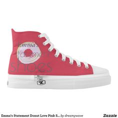 Emma's Statement Donut Love Pink Shoes
