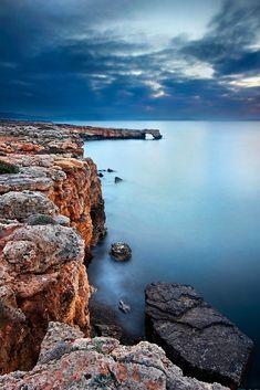 'Cliffs of Geropotamos' by Hercules Milas Slow Shutter, Shutter Speed, Crete Island, Arch Bridge, Most Beautiful Beaches, Beach Look, Long Exposure, Greek Islands, Beautiful Islands
