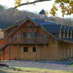 Here is my next home on my property in Coldsprings.  The Denali Barn Apt 60 - Barn Pros