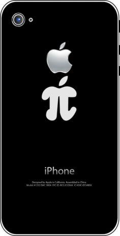 If I ever get an iPhone! Apple pi... What every Math teacher needs!
