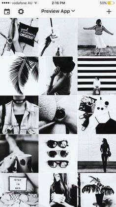 Filters in the black & white filter pack Instagram Feed Tips, Instagram Feed Layout, Instagram Grid, Instagram Marketing Tips, Instagram Design, Instagram Story Ideas, Instagram Aesthetic Ideas, White Instagram Theme, Black And White Instagram