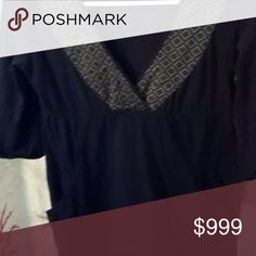 O'NEILL Mini Dress with Pockets ! Flash Sale🌟🌟🌟 Gently loved Black dress with gray and black patterned collar. Super Comfy ! Details, please note 3rd photo shows details of gray and black only. Flash distorts to white and gray, But black and gray dress only. O'Neill Dresses Mini