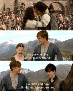 The Chronicles of Narnia: Prince Caspian. It comes just before the sad part...