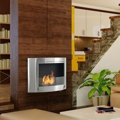 Why An Ethanol Fireplace May Be The Right Move For You