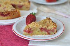 Pénteki süti: emeletes, epres, morzsás