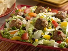 lifestyle or product roasted garlic chicken sausage caesar salad ...