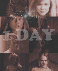 City of Bones shooting countdown:1day