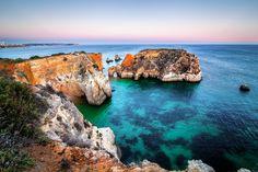 Alvor rocks Algarve - Portugal We love this beach.