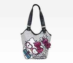 Hello Kitty Tote Bag: Heart Wink