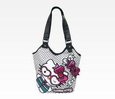 Hello Kitty Tote Bag: Heart Wink