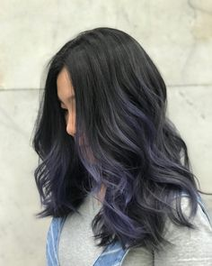 50 Fishtail with Smooth Shiny Waves Hairstyle These trendy Hairstyle ideas would gain you amazing compliments. Check out our gallery for more ideas these are trendy this year. Purple Tinted Hair, Purple Hair, Hair Inspo, Hair Inspiration, Medium Hair Styles, Short Hair Styles, Dye Hair, Stylish Hair, Pretty Hair