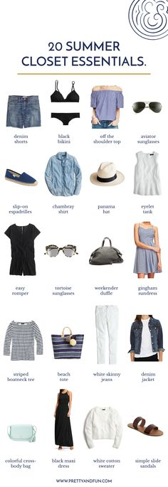 Happy First Day of Summer! After a beautiful, warm weekend I'm finally in a summertime state of mind and spent some time yesterday pulling out some favorite summer pieces to prep for my upcoming trip back to Chicago. While doing a bit of closet purging and organizing I pulled together a little list of my ultimate Read More