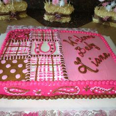 My awesome little country girl baby shower cake!! :-)