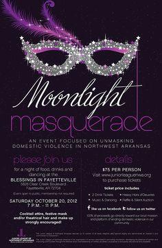 Masquerade Ball poster.