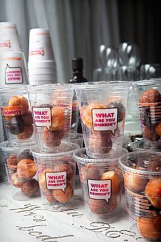 dunkin' donuts coffee bar...omg, how great would this be??