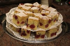 This recipe is from a really special person in my life, Vera. By the time I will have opened my own balery I'm certain that this VERA'S CHERRY SPONGE CAKE will be on the list. Visit my website and make it at home! (If you do so, please send me a picture of it ;) )