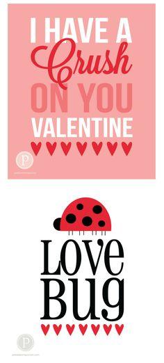 Valentine Prints   pebblesinmypocket.com #love #quotes