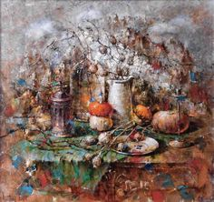 "Saatchi Art Artist Aurum Art Centre Odessa; Painting, ""The white mountain"" #art"