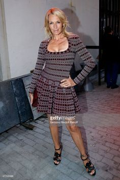 Estelle Lefebure attends the 'Alaia' : Azzedine Alaia Perfum Launch Party on May 21, 2015 in Paris, France.