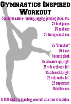Gymnastics Workout