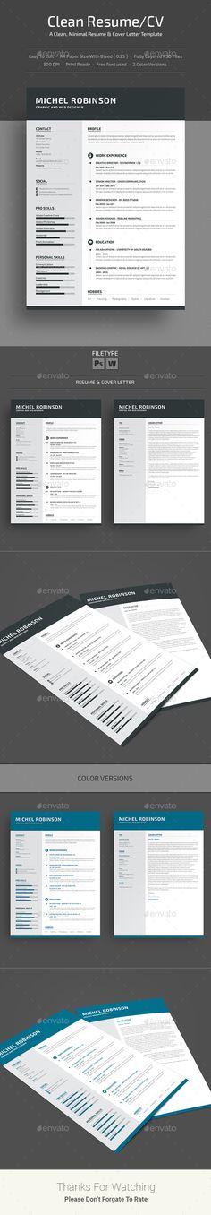 1000  ideas about resume templates on pinterest