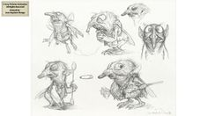 Sony Pictures Animation (2009) - 1st Steps by Jean-Baptiste Monge, via Behance
