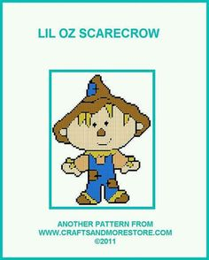 LIL OZ SCARECROW by JODY -- WALL HANGING 1/2