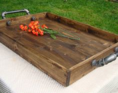 Image result for ottoman tray decor