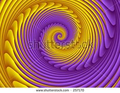 yellow and purple fashion Fractal Images, Abstract Images, Fractal Art, Yellow Theme, Purple Themes, Mellow Yellow, Purple Yellow, Pink, Spirals In Nature