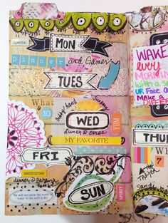 """Every Life Has a Story!"" - {Roben-Marie Smith} - The Documented Life Project Weekly Planner Pages..."