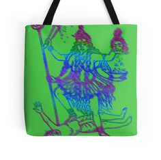 """Kaali Maa"" Tote Bags by indusdreaming 