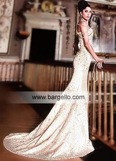 Wedding Gowns Light Champagne Gold Gown With Exquisite