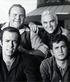 Pernell Roberts, Dan Blocker, Lorne Greene and Michael Landon`favorite TV show when I was growing up. I had a crush on 'Hoss'.