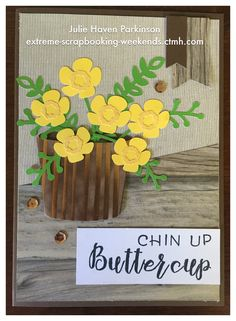 Can't stop creating with CTMH Flower Market Cricut Collection! Paper is Rustic Home