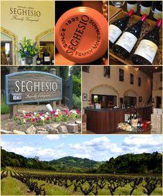 Seghesio Vineyard, Healdsburg, Sonoma County, California.  Well known for their Zinfandels.
