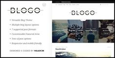 Blogo is light and elegant WordPress Theme created for Bloggers and Writers. Blogo can be easily adapted to any kind of blog. Variety of options and blog layouts will help you to set up your own blog within a minutes. Extremely easy to use with live options preview (see the changes before saving them in a real-time preview). Carefully crafted and coded with best practices in mind makes sure it's user friendly and SEO ready. Includes support for most popular plugins and features like…