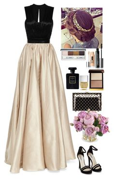 """Event"" by eliza-redkina ❤ liked on Polyvore featuring Jenny Packham, Isabel Marant, Nly Shoes, Charlotte Olympia, Chanel, Nails Inc., Tom Ford and New Growth Designs"