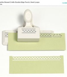 Perforatrice de la collection de Martha Stewart.
