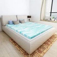 Buy Mattress Topper Queen, Gel Memory Foam Mattress Toppers for Queen Size Bed, 2 Inch