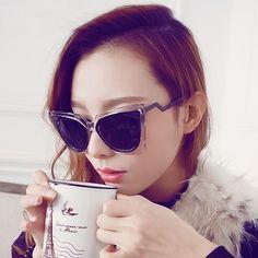 Women+Fashion+Retro+Sunglasses+Multicolor+Metal+Plastic+Frame+Elegant+Sunglasses+Glassess+CNDSV019895   Lens+Material:+PC 5+Colors+available:+White,+Tawny,+Green,+Champagne+Color,+Black Frame+Width:+14.8cm Frame+Height:+5.5cm Arm+Length:+13cm Lens+Width:+5cm Lens+Height:+4cm Item:+Eyewe...
