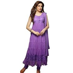 Purple Anarkali Suit,our experts make sure to design the offered suits as per the latest fashion and trends. Buy Online Traditional Indian Long Anarkali Suit, The range comprises Stylish unstitchedSuit, Party Wear Suit, Anarkali Suit, Suit and Trendy Latest Lavender Pink Anarkali Suit