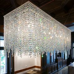 Crazy endeavor ~Wealth and Luxury ~Grand Mansions, Castles, Dream Homes & Luxury homes Lighting Suppliers, Lighting, Ceiling Design, Crystal Chandelier, Lights, Beautiful Lights, Contemporary Chandelier, Chandelier, Ceiling Installation