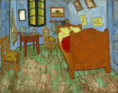 """The Bedroom Painting"", Vincent Van Gogh"