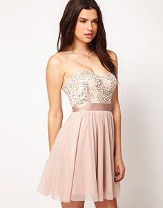 ASOS Lace Bustier With Embellishment