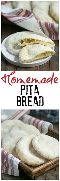 Homemade Pita Bread | Soft, pillowy and magnificent!! @lizzydo