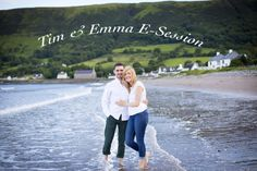 waterfoot e-session Tim&Emma