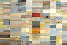 Duncan Johnson. reclaimed wood. collage