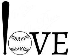 Baseball SVG, Softball SVG, Play Ball SVG, Love Baseball, Outdoor Sport, Baseball Clipart, Softball Clipart, Baseball Mom, Instant Download